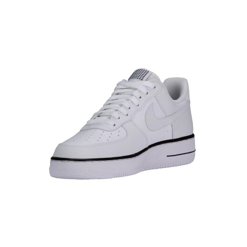 Nike Air Force 1 Bajo - De Negro / Blanco Hombres eOknQLZFt2
