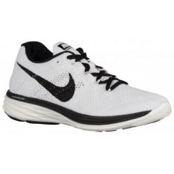 Nike Flyknit Lunar 3 - Women's - Running - Shoes - Sail/Black-sku:98182101
