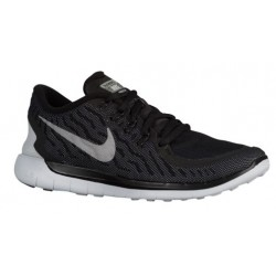 Nike Free 5.0 2015 Flash - Women's - Running - Shoes - Black/Cool Grey/Pure Platinum/Reflective Silver-sku:6575001