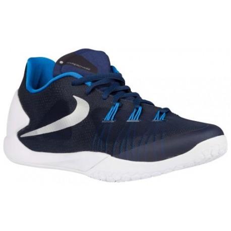 Nike Hyperchase - Men's - Basketball - Shoes - Midnight Navy/White/Photo  Blue