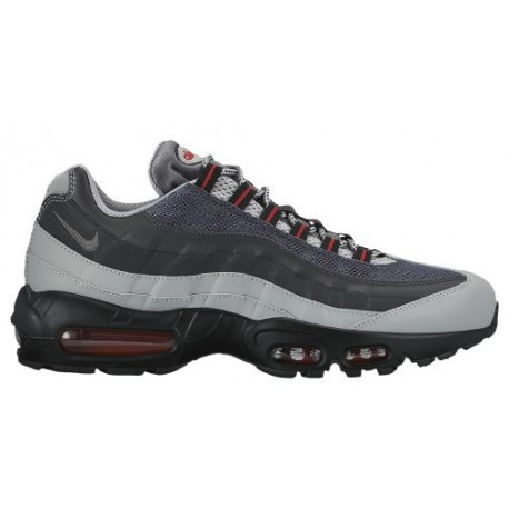 Nike Air Max 95 - Men's - Running - Shoes - Silver/Anthracite/University
