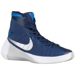 Nike Hyperdunk 2015 - Men's - Basketball - Shoes - Midnight Navy/Photo Blue/White/Metallic Silver-sku:49645405