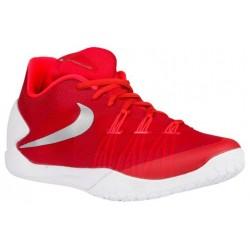Nike Hyperchase - Men's - Basketball - Shoes - University Red/White/Bright Crimson/Silver-sku:49554601