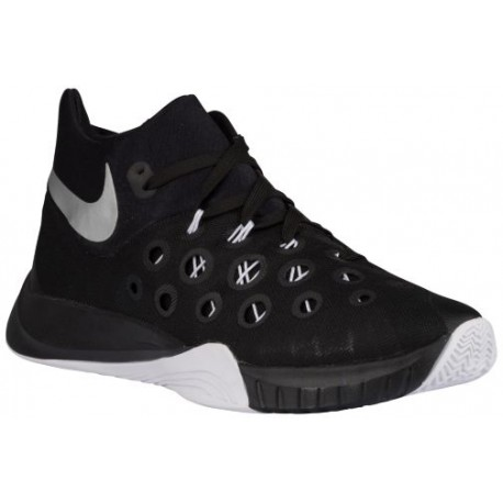 pas cher pour réduction dc1e1 26988 Nike Zoom Hyperquickness 2015 - Men's - Basketball - Shoes -  Black/White/Metallic Silver-sku:49883001