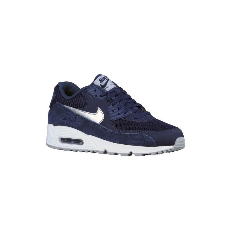 bbc6c20da1 ... Nike Air Max 90 - Mens - Running - Shoes - Midnight NavyWhite . ...