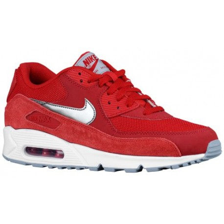 uk availability 30e87 bc8c6 nike air max 90 ice wolf grey,Nike Air Max 90 - Men s - Running - Shoes -  Gym Red White Wolf Grey Metallic Silver-sku 37384602