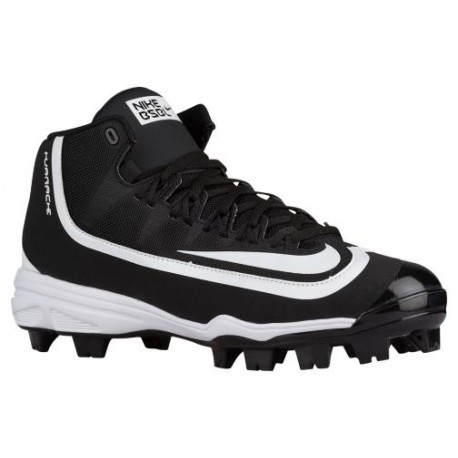 Nike Huarache 2K Filth Pro Mid MCS - Men\u0027s - Baseball - Shoes - Black/