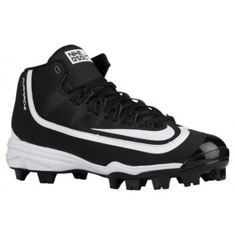 Nike Huarache 2K Filth Pro Mid MCS - Men\u0027s - Baseball - Shoes - Black/