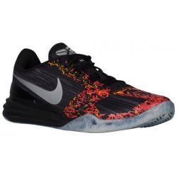 Nike Kobe Mentality - Men's - Basketball - Shoes - Kobe Bryant - Black/Chrome/Anthracite/Cool Grey/Bright Crimson-sku:04942009