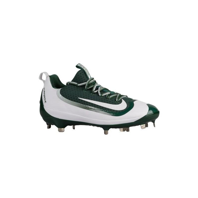green and white nike huarache baseball cleats