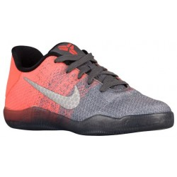 Nike Kobe XI Elite - Boys' Preschool - Basketball - Shoes - Kobe Bryant - Dark Grey/Volt/Bright Mango/Court Purple/Black-sku:229