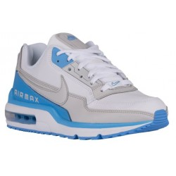 Nike Air Max LTD - Men's - Running - Shoes - White/University Blue/Neutral Grey-sku:87977104